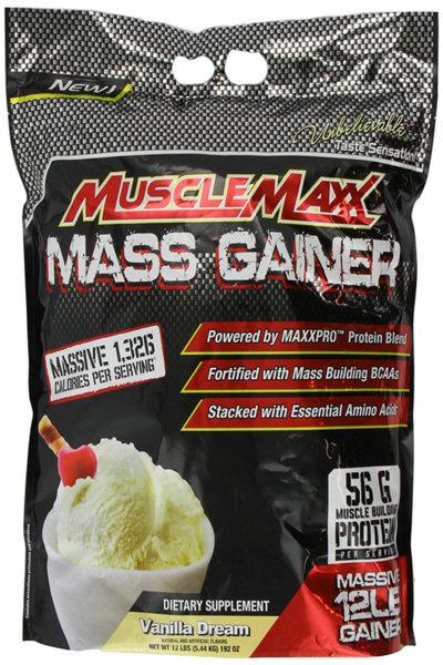 MuscleMaxx Mass Gainer 5.44kg (12lb)